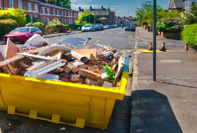 Why is hiring a skip bin beneficial for companies?